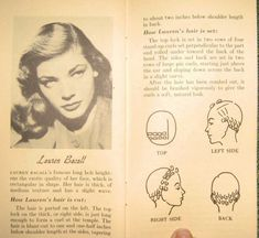 retro pin curl hairstyle - Bing Images
