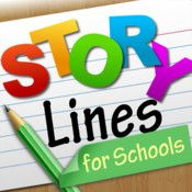 Apps We Love: StoryLines for Schools This is a Pictionary-style game app that allows for multiple players and is specifically geared towards helping students develop age-appropriate vocabulary and learn commonly used phrases