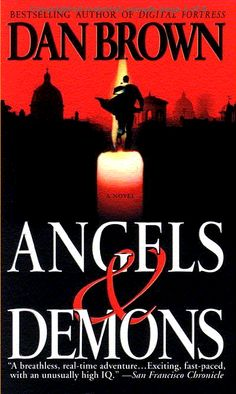 Angels & Demons - Dan Brown One of his best works by far, even better than the Da Vinci Code. Take our word for it.