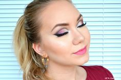 All The Little Royals: PURPLE CUT CREASE BIRTHDAY LOOK + TUTORIAL