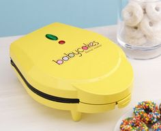 Babycakes Mini Doughnut Maker - Donuts are baked, not fried!