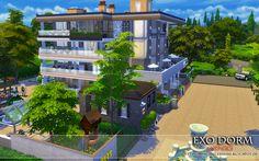 The Sims 4 - Request: EXO Dorm (No CC)   Homeless Sims