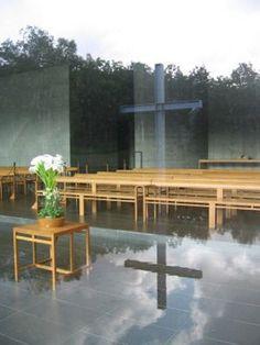 Church of Water, by Yadao Ando / Tomamu, Japan
