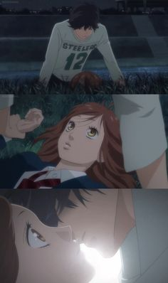 The best moment! <3 | Anime/manga: Ao Haru Ride (Blue Spring Ride) [Kou Mabuchi x Yoshioka Futaba]