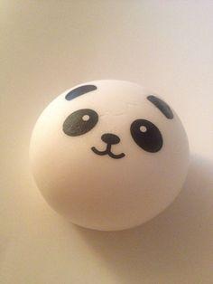 Panda Bun Squishy Supplier : Panda bear bun squishy cellphone charm kawaii The o jays, Panda bears and Cute japanese