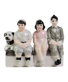 Little Rascals Gang Salt & Pepper Shakers #zulily #zulilyfinds