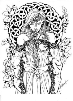 gothic coloring pages # 38