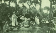 Dinar a Sant Medir, l'any 1911