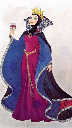 "Disney - Enesco ""Couture de Force"" Princess Collection on Wacom Gallery Arte Disney, Disney Magic, Disney Art, Disney Pixar, Disney Evil Queen, Disney Princess, Disney Villains, Disney Characters, Snow White Evil Queen"