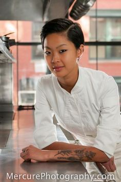 2013 Top Chef Kristen Kish of the Barbara Lynch Gruppo ©2013 Mercure Photography