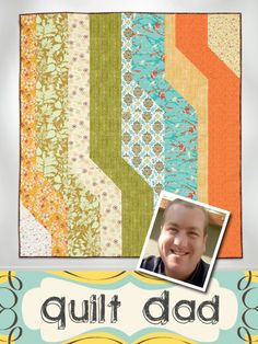"Quilt: ""A Shift in Perspective""  Designer: John Q. Adams  Blog: Quilt Dad (enter to win an e-book of Modern Quilts from the Blogging Universe)"