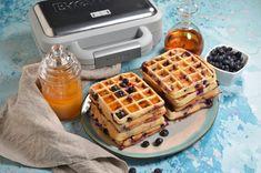 Reteta de Macarons frantuzesti - Retete culinare by Teo's Kitchen Waffles, Brunch, Macarons, Breakfast, Food, Kitchen, Sweets, Baking Center, Cooking