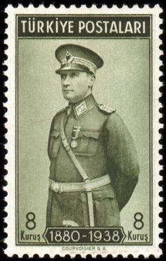 Türk PullarıAtatürk pulu (1939)