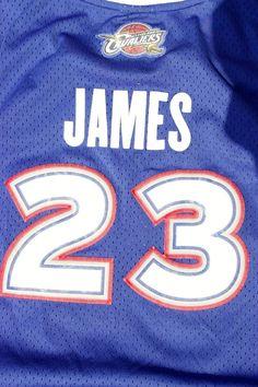 Lebron James Cavaliers All Star Jersey Blue Red White Sz 2 XL Reebok Sewn   Reebok bb5e8bc5b