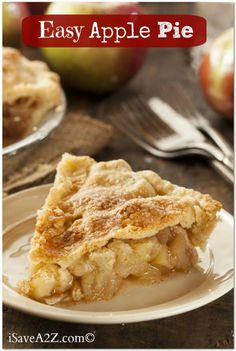 Easy Apple Pie Recipe http://www.isavea2z.com/easy-apple-pie-recipe/?utm_campaign=coschedule&utm_source=pinterest&utm_medium=Jennifer%20-%20iSaveA2Z%20Blog%20(~%20Just%20Desserts%20~)&utm_content=Easy%20Apple%20Pie%20Recipe #easyrecipes #bestrecipes