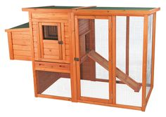Trixie Trixie Chicken Coop with Outdoor Run & Reviews   Wayfair
