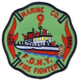 Abzeichen Fire Department City of New York / Marine Company No. 9