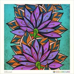 #colorcure #flower #coloring #color #art #beautiful #flowers #healing #cure #colorful #wallpainting #adultcoloringbooks #비밀의정원컬러링북 #색칠공부 #healing #therapy #adultcoloring #힐링 #미술치료 #색칠하기#puple #art #artwork #artist #painting #sketch