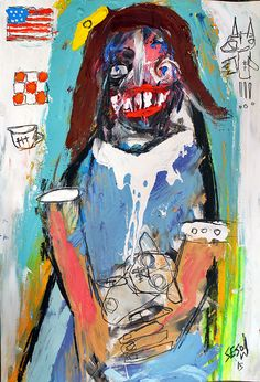 recent matt sesow painting.  available directly from the artist at  http://new.sesow.com