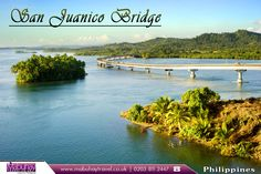San Juanico Bridge, Philippines:       San Juanico #Bridge is part of the Pan-Philippine #Highway and stretches from Samar to Leyte across the San Juanico Strait in the #Philippines.       Source: https://en.wikipedia.org/wiki/San_Juanico_Bridge       #sanjuanicobridge #flights #travel #travelphilippines #booknow #bookonline #mabuhay #mabuhaytravel #cheapflights #travelagents #travelagentsinuk       Book Flights to Philippines with Mabuhay Travel: http://www.mabuhaytravel.co.uk/