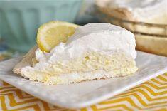 Lemon Angel Pie with meringue crust!