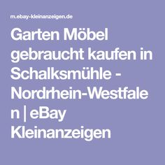 Garten Möbel gebraucht kaufen in Schalksmühle - Nordrhein-Westfalen   eBay Kleinanzeigen