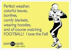 NOTHINGS BETTER THAN WATCHING FOOTBALL WHILE DRINKING HOT CHOCOLATE AND CUDDLED IN A SWEATSHIRT AND SIPPIN ON SOME COFFEE