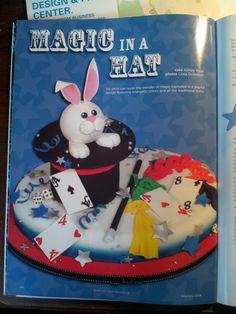 cute magic cake!