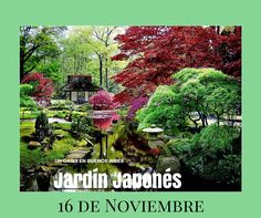 ¡Visita el Jardín Japonés!