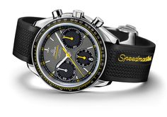Omega Speedmaster Racing Watch: Baselworld 2012 continues to bring out stunning new watches for the upcoming season. The Omega Men's Watches, Sport Watches, Luxury Watches, Cool Watches, Watches For Men, Wrist Watches, Dream Watches, Fine Watches, Fashion Watches