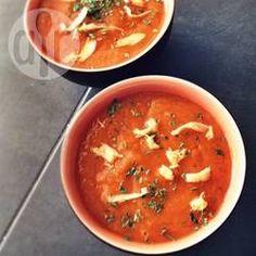 Sopa de cenoura com gengibre e curry @ allrecipes.com.br