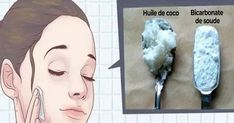 This Is How To Use Coconut Oil And Baking Soda To Look 10 Years Younger - Healthy Natural Living Natural Facial Cleanser, Natural Exfoliant, Face Cleanser, Natural Face, Facial Cleansers, Natural Beauty, Baking Soda Scrub, Baking Soda For Hair, Baking With Coconut Oil
