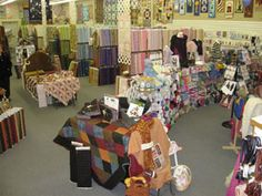 The Quilt Cottage Company in Hays, Kansas took my breath away with ... : quilt shops kansas city - Adamdwight.com