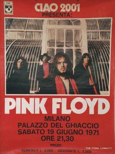 Pink Floyd in Italia nel giugno del di Wazza Best Picture For Musical Band metal For Your Taste You are looking for something, and it is going to tell you exactly what you are looking for, and y Rock Posters, Band Posters, Concert Posters, Music Posters, Pink Floyd Poster, Pink Floyd Art, Rock & Pop, Rock N Roll, Blues Rock
