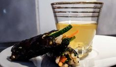 Mini kimbap-wraps - Små vegetariska och goda kimbap-wraps!