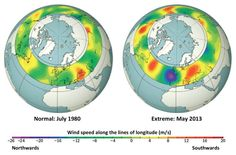 Unprecedented summer warmth and flooding, forest fires, drought and torrential rain -- extreme weather events are occurring more and more often, but now an international team of climate scientists has found a connection between many extreme weather events and the impact climate change is having on the jet stream.