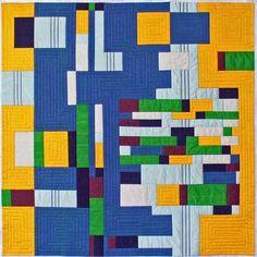 Redefinitions I, art quilt by Dena Crain