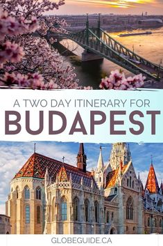 From soaking in the Szechenyi Baths to seeing Buda Castle to enjoying an enchanting night cruise, here's how to make the most of two days in #Budapest.  #Hungary | #Europe | #Travel