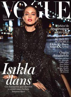 Emily Didonato by Miguel Reveriego Vogue Turkey November 2017