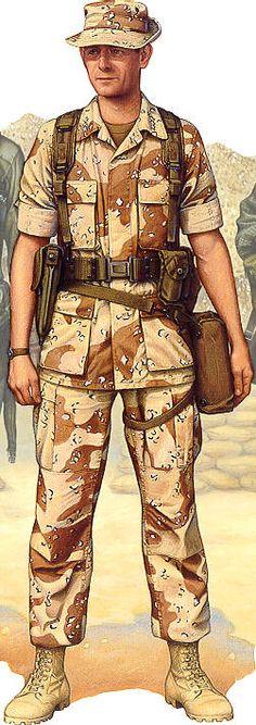 Desert Storm Marine Uniform, pin by Paolo Marzioli