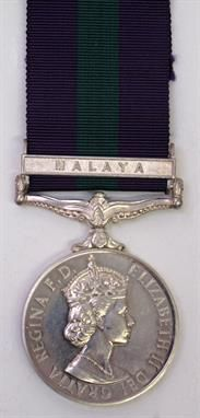 Lot 79 – EIIR General Service Medal – Military & Collectables 30 Apr 2014 http://www.candtauctions.co.uk/