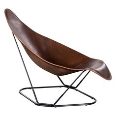 ABRAZO PAMPA CHOCOLATE LEATHER CHAIR - Best Buys - HD Buttercup Online – No Ordinary Furniture Store – Los Angeles & San Francisco