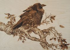 Image result for elena lesina pyrography