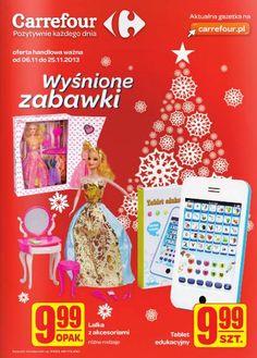 W kim z nas nie kryje się dziecko...? A poważnie - jeżeli chcecie sprawić przyjemność milusińskim i uniknąć grudniowego, zakupowego szału, Carrefour już teraz zaprasza do kącika wyśnionych zabawek. http://www.promocyjni.pl/gazetki/11815-wysnione-zabawki-gazetka-promocyjna