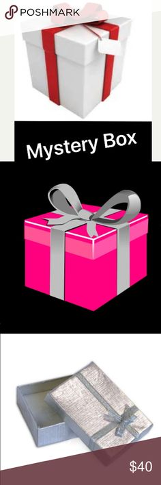 🎁Mystery Box Filled With Jewelry &Accessories 🎁 🎁Mystery Box Filled With Jewelry &Accessories 🎁 Your mystery Box will include 10 handpicked items from my closet. Items may include: Jewelry/ Accessories/ Scraves. Retail Value $100+. If you would like you can like up to 20 items from our jewelry/accessories/scarves items that may be included in your mystery box. This is a fun gift for you. Keep the items/give them as gifts or re-Posh them. 🎁❌Price Firm❌No Returns/ No Exchanges❌Cannot be…