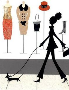 shop   /   the dog ! / illustration