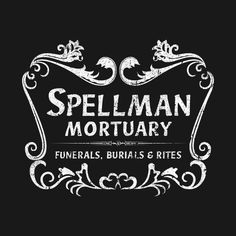 'Spellman Mortuary' #spellman #mortuary #spellmanmortuary #sabrina #chillingadventuresofsabrina #kiernanshipka #jughead #harveykinkle #archie #riverdale #90s #witch #witchy #witchcraft #spells #witchywoman #witchesinstagram ad