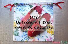 DIY Bolsita de tela para el calzadoDIY Bolsita de tela para el calzado