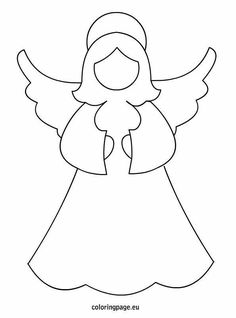 Angel Pictures Printable Free Christmas Trees Angels Image Search Snowman Diy Crafts