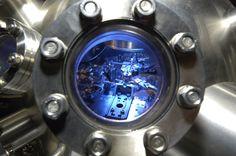 Blick in ein Rastertunnelmikroskop Smart Watch, Gears, Technology, Photos, Chemistry, Tech, Smartwatch, Gear Train, Engineering
